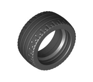 LEGO Black Tire Low Profile Ø24 x 12 (18977)