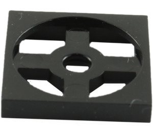 LEGO Black Turntable 2 x 2 Plate Base (3680)