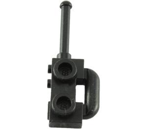LEGO Black Walkie-Talkie (Extended Handle) (3962)