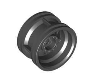 LEGO Black Wheel Rim Ø30 x 20 with No Pinholes, with Reinforced Rim (56145)