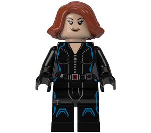 LEGO Black Widow with Short Hair Minifigure