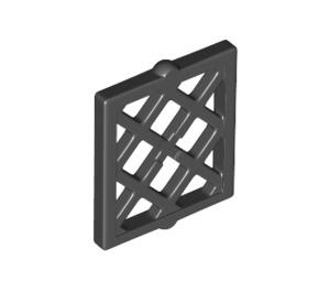 LEGO Black Window Shutter Lattice 1 x 2 x 2 (38320)