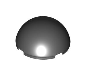 LEGO Black Windscreen 4 x 4 x 1.6 Dome (35320 / 86500)