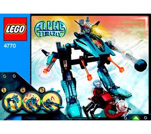 LEGO Blizzard Blaster Set 4770 Instructions