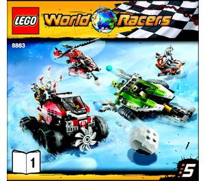 LEGO Blizzard's Peak Set 8863 Instructions