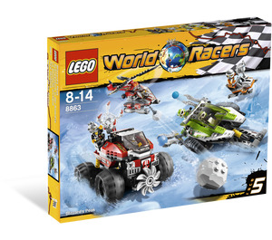 LEGO Blizzard's Peak Set 8863 Packaging