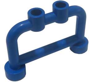 LEGO Blue Bar 1 x 4 x 2 with Studs (4083)