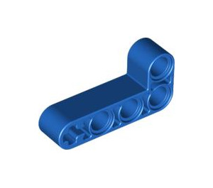 LEGO Blue Beam 2 x 4 Bent 90 Degrees, 2 and 4 holes (32140 / 42137)