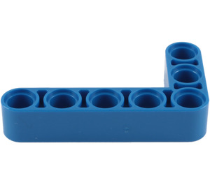 LEGO Blue Beam Bent 90 degrees, 3 and 5 Holes (32526)