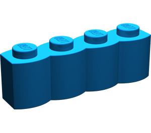LEGO Blue Brick 1 x 4 Log (30137)