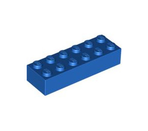 LEGO Blue Brick 2 x 6 (2456 / 44237)