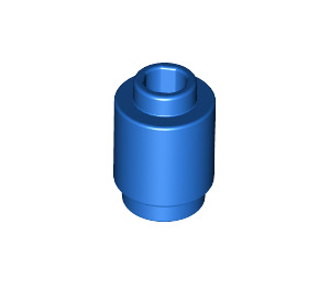 LEGO Blue Brick Round 1 x 1 with Open Stud (3062)