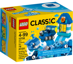 LEGO Blue Creative Box Set 10706 Packaging