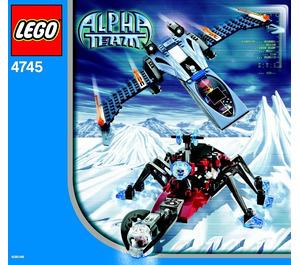 LEGO Blue Eagle vs. Snow Crawler Set 4745
