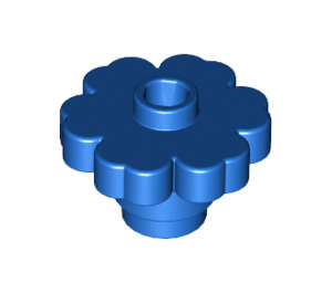 LEGO Blue Flower 2 x 2 with Open Stud (4728)