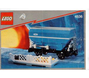 LEGO Blue Hopper Car Set 4536 Instructions