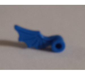 LEGO Blue Minifig Accessory Helmet Plume Dragon Wing Right