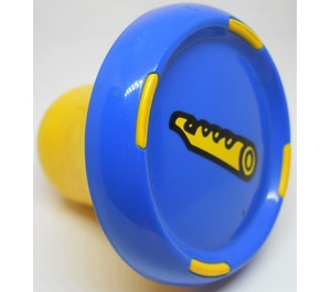 LEGO Blue Music Composer sound plug with flute pattern