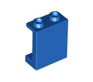 LEGO Blue Panel 1 x 2 x 2 with Side Supports, Hollow Studs (87552)