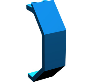LEGO Blue Panel 3 x 2 x 6