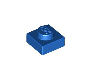 LEGO Blue Plate 1 x 1 (3024)