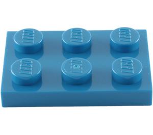 LEGO Blue Plate 2 x 3 (3021)
