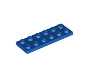 LEGO Blue Plate 2 x 6 (3795)