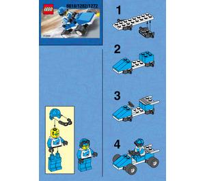 LEGO Blue Racer Set 1282 Instructions
