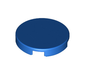 LEGO Blue Round Tile 2 x 2 with Bottom Stud Holder (14769)