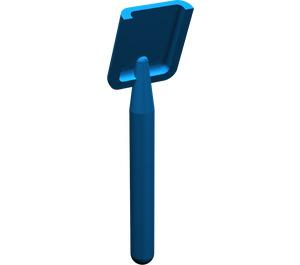 LEGO Blue Shovel (Round Stem End) (3837)