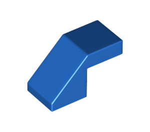 LEGO Blue Slope 1 x 2° 45 (28192)