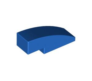 LEGO Blue Slope 1 x 3 Curved (50950)