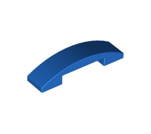 LEGO Blue Slope 1 x 4 Curved Double (93273)