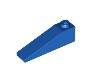 LEGO Blue Slope 1 x 4 x 1 (18°) (60477)