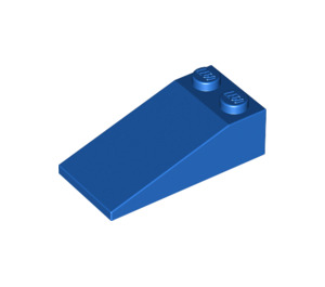LEGO Blue Slope 2 x 4 (18°) (30363)