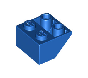 LEGO Blue Slope 45° 2 x 2 Inverted (3660)