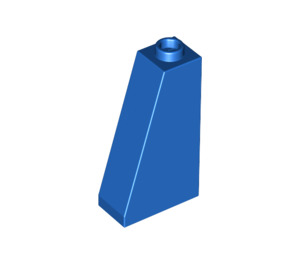 LEGO Blue Slope 75 2 x 1 x 3 with Hollow Stud (4460)