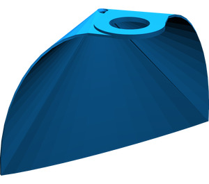 LEGO Blue Standard Cape with Regular Starched Texture (50231)