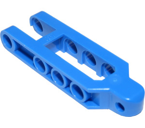 LEGO Blue Suspension Arm with Styled Ball Socket (2738)