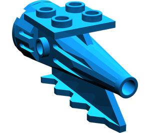 LEGO Blue Tail 4 x 2 x 2 with Rocket (4746)
