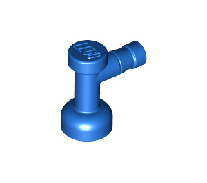 LEGO Blue Tap 1 x 1 with Hole in End (4599)