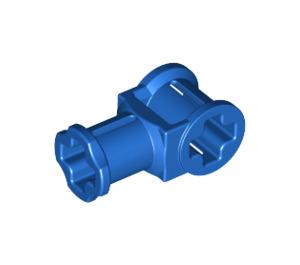 LEGO Blue Technic Through Axle Connector with Bushing (32039)