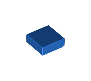 LEGO Blue Tile 1 x 1 with Groove (3070)
