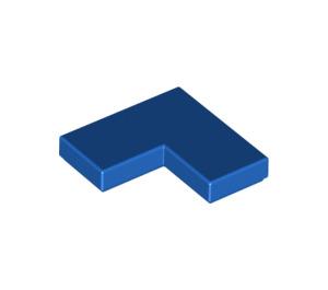 LEGO Blue Tile 2 x 2 Corner (14719)
