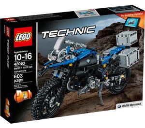 LEGO BMW R 1200 GS Adventure Set 42063 Packaging