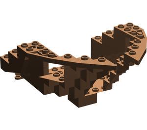 LEGO Boat Bow 12 x 12 x 5 & 1/3 Hull Inside (6051)