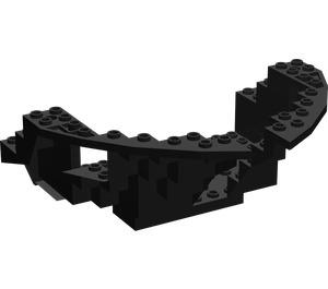 LEGO Boat Bow 16 x 12 x 5 1/3 Hull Inside (2557)