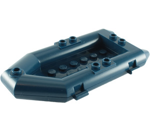 LEGO Boat Inflatable 12 x 6 x 1.333 Lower  (30086 / 75977)