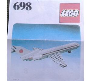 LEGO Boeing Aeroplane Set 698-1 Instructions