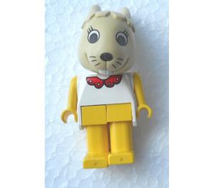 LEGO Bonnie Bunny with Red Collar Fabuland Figure